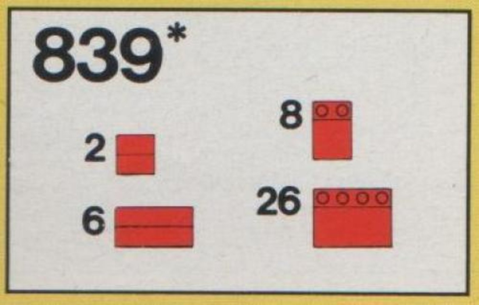 Red Roof Bricks Parts Pack, 33 Degree