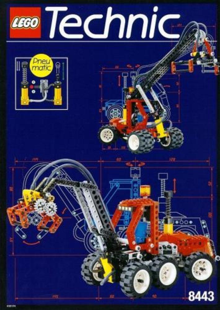 Pneumatic Log Loader / Pneumatic Logger