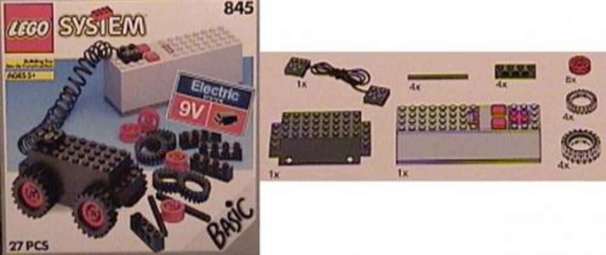 Battery Motor, 9V