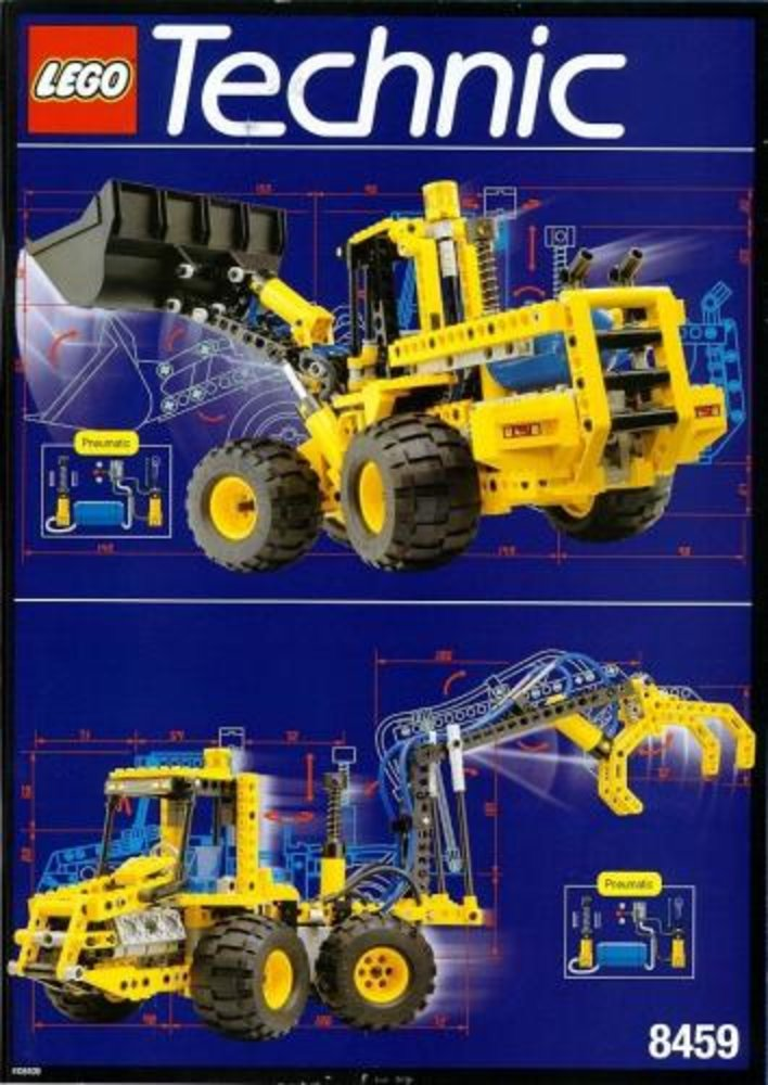 Pneumatic Front-End Loader