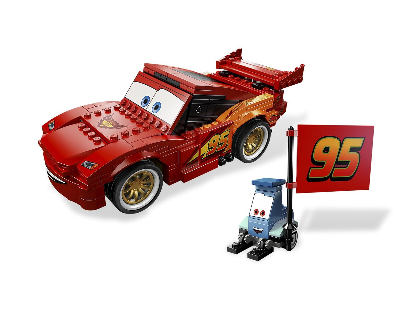 Ultimate Build Lightning McQueen