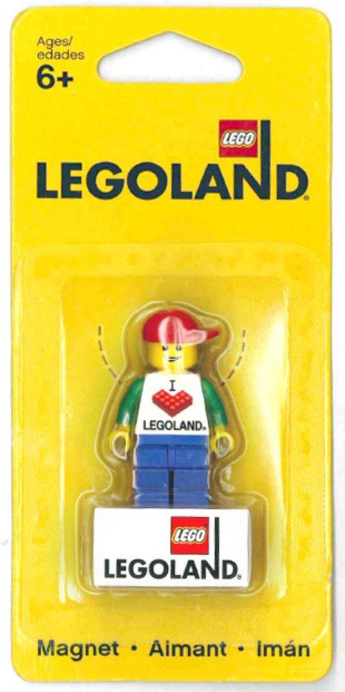 I Love LEGOLAND Magnet [Male]