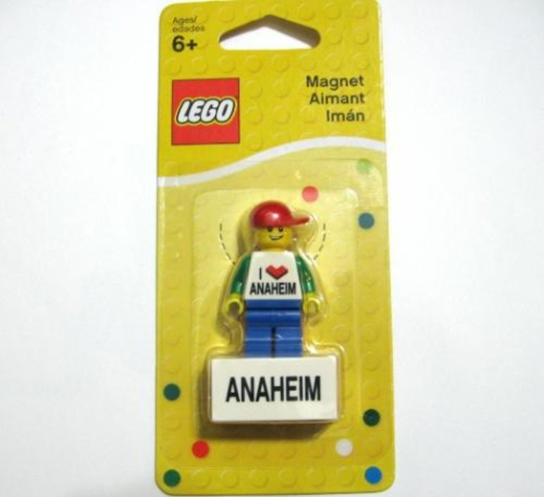 I Love Anaheim Minifigure Magnet