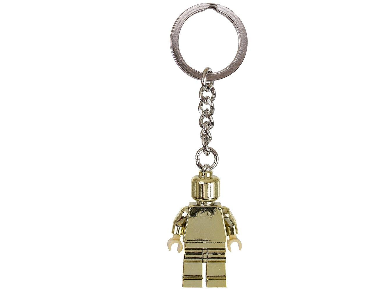 Gold Minifigure Key Chain