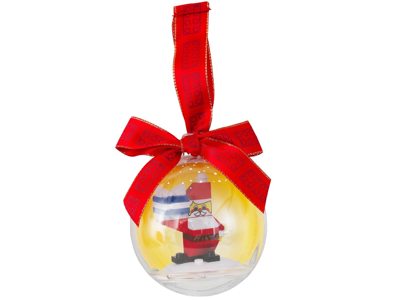Santa Holiday Bauble