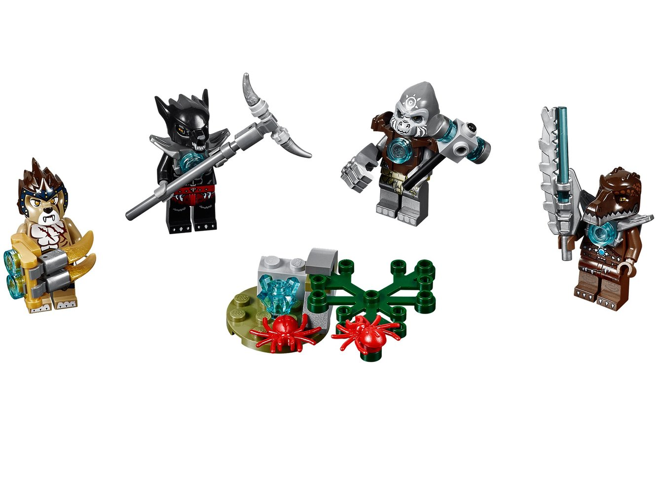 Legends of Chima Minifigure Accessory Set