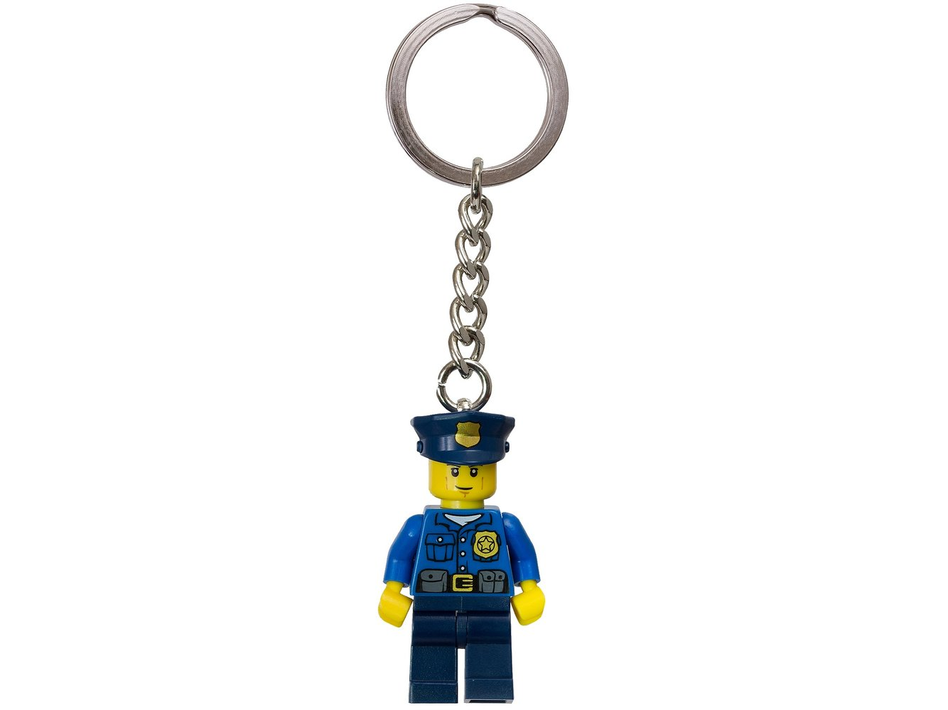 Policeman Key Chain
