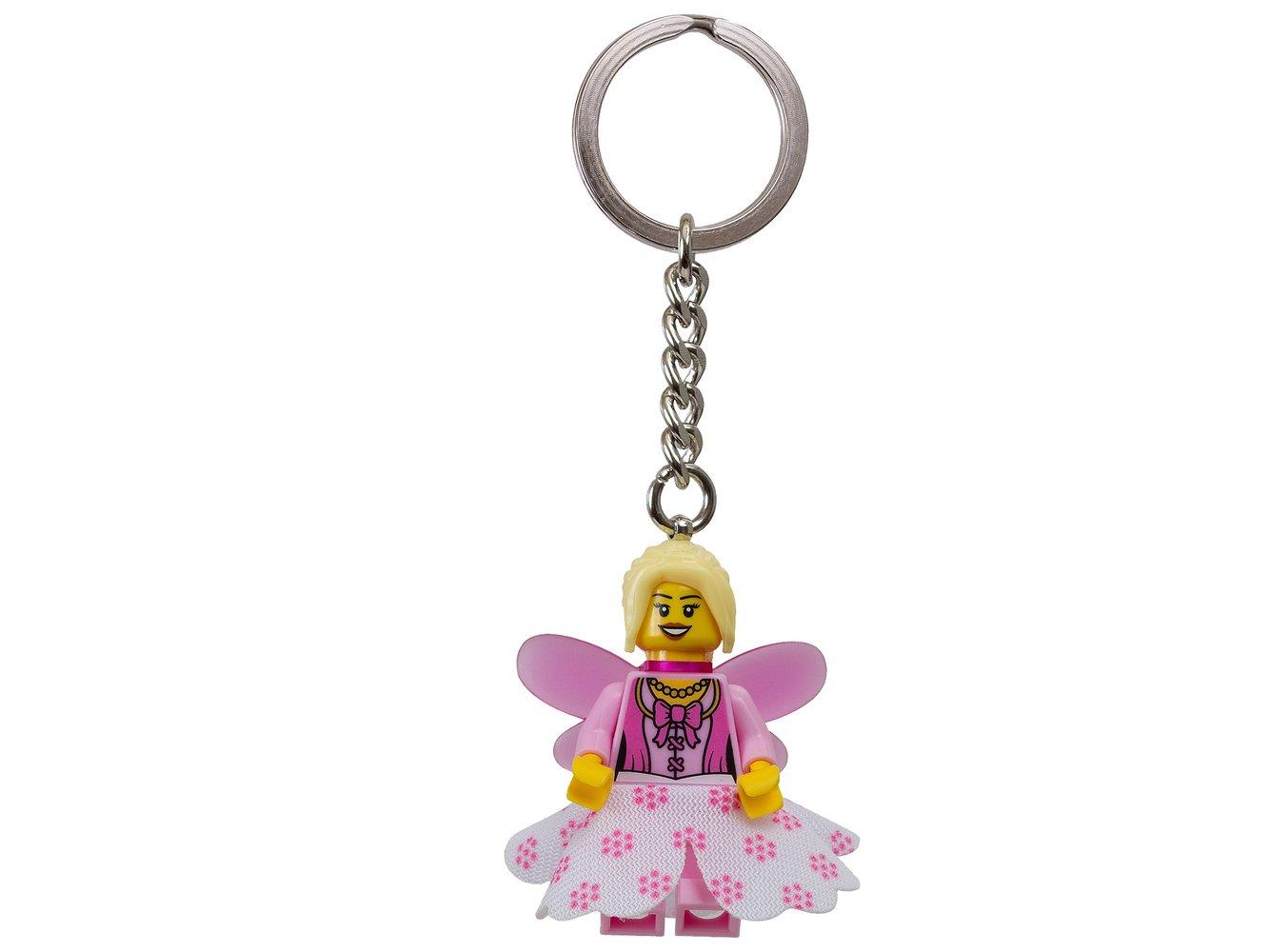 Girl Minifigure Key Chain