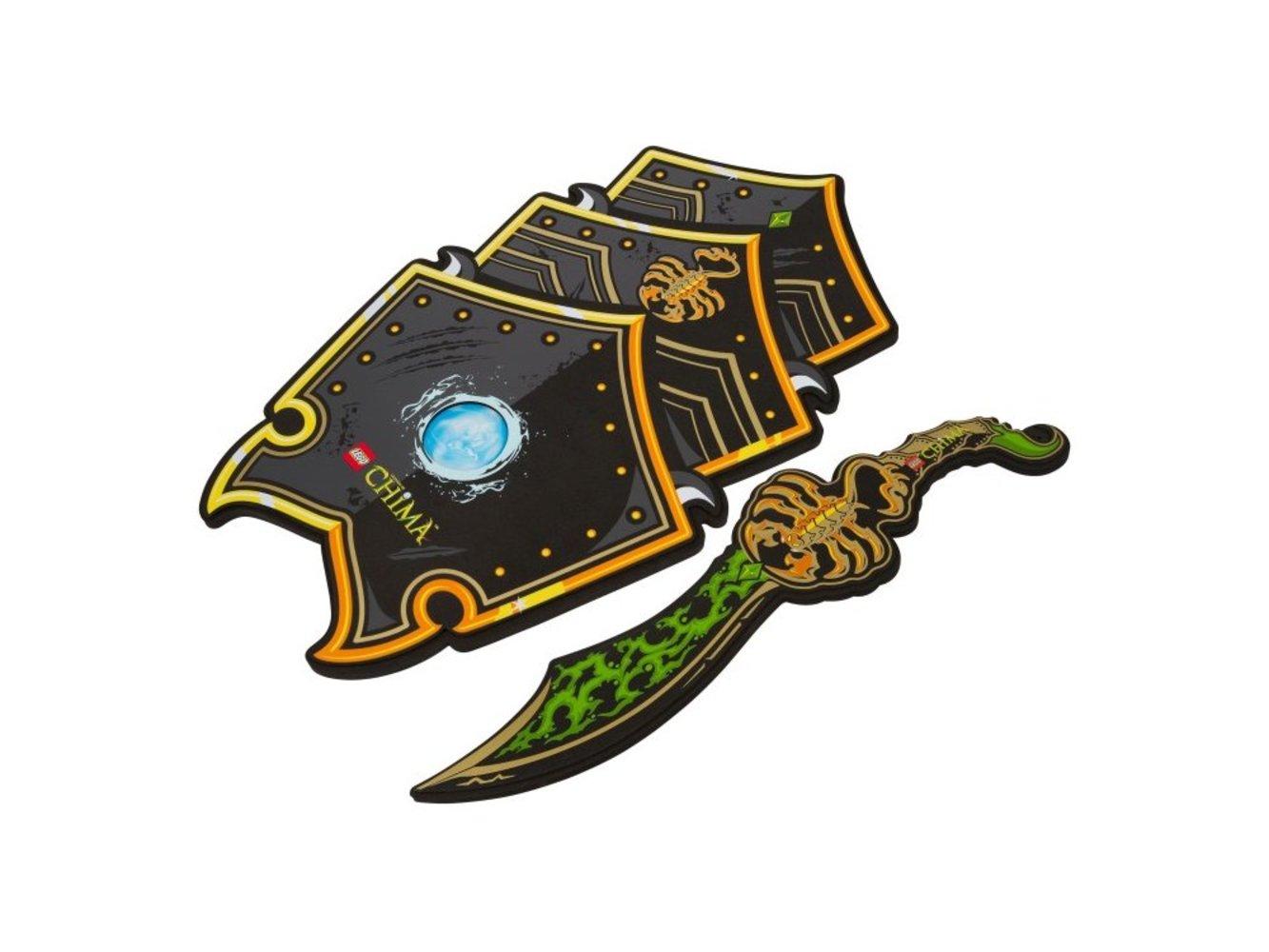 Legends of Chima Scorpion Sword & Shield