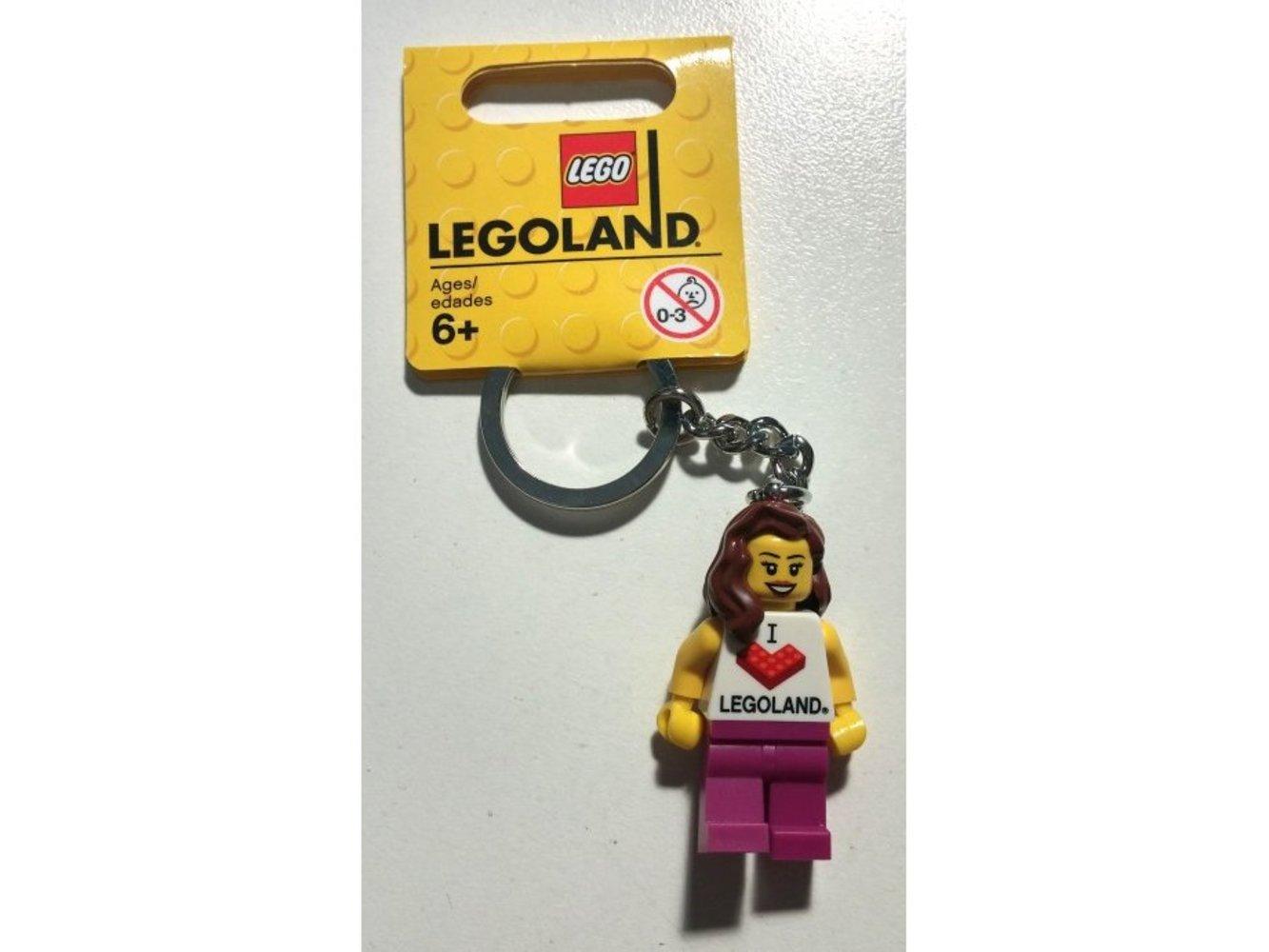 I Love LEGOLAND Key Chain (Female)