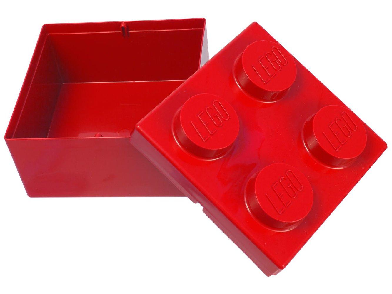 2x2 Storage Brick (Red)