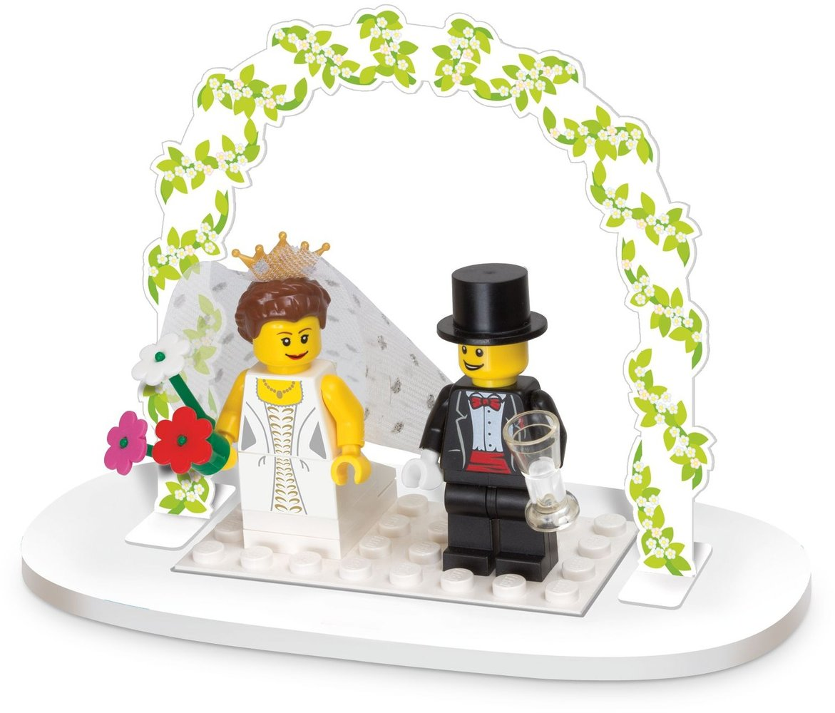 Minifigure Wedding Favor Set