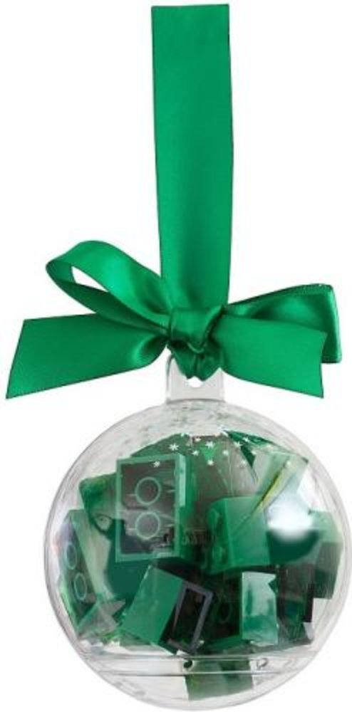 Holiday Ornament with Green Bricks