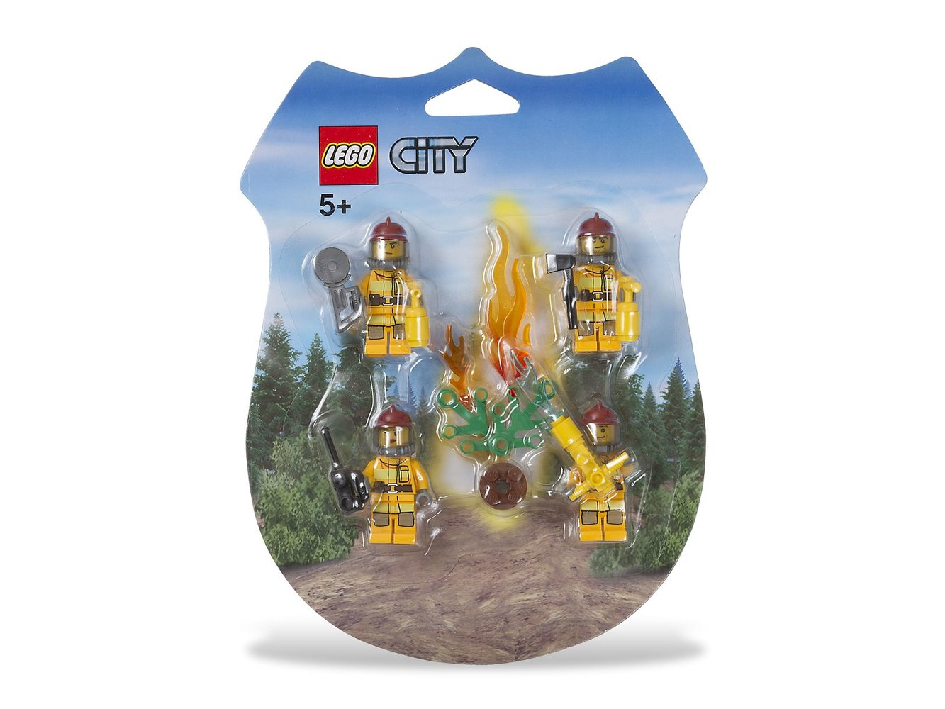 City Firemen Minifigure Pack