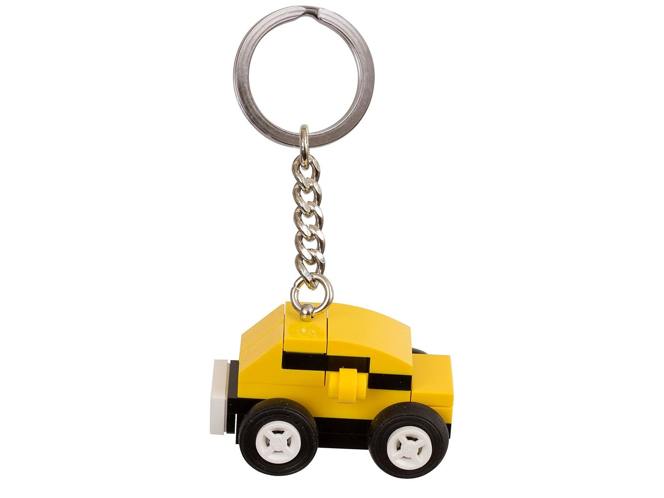 Yellow Car Bag Charm