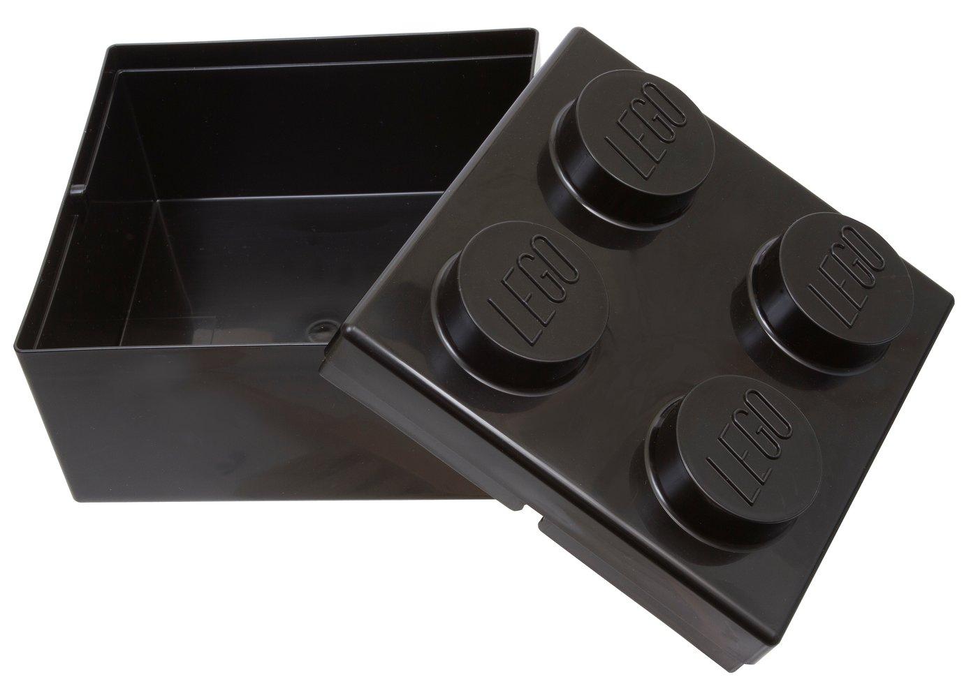 Four Stud Lunch Box Black