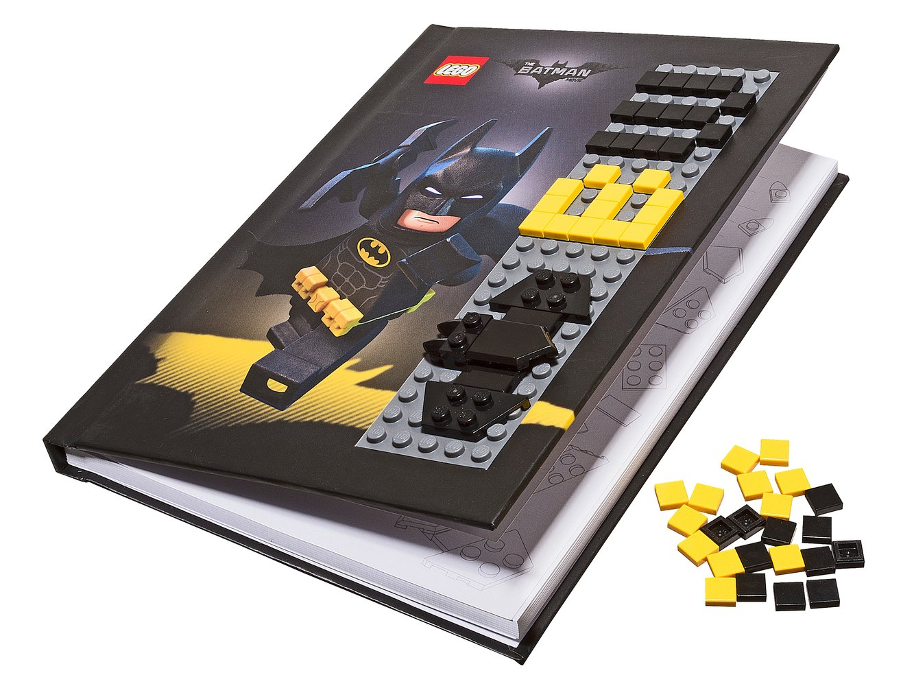 Batman Notebook with Stud Cover