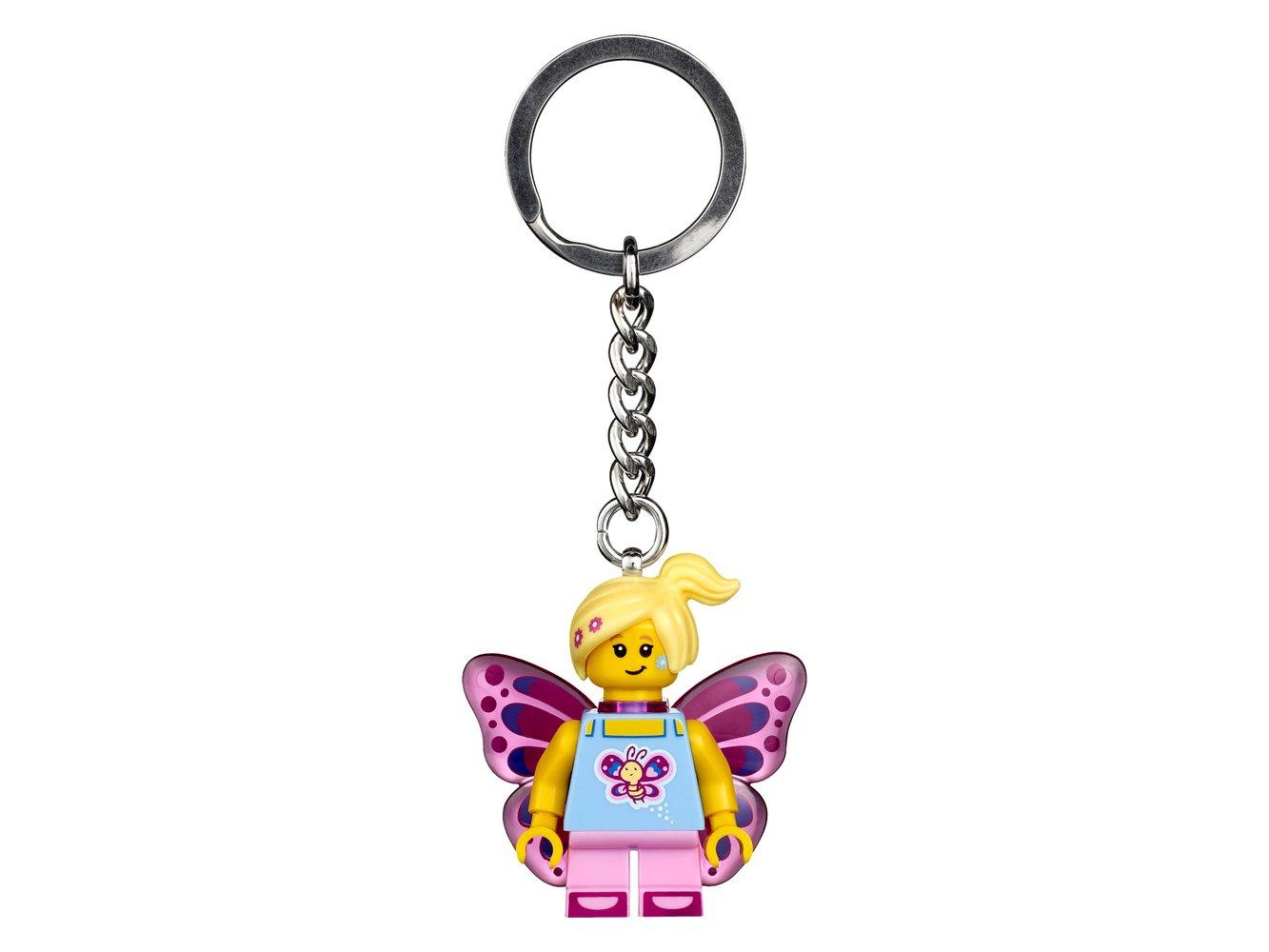 Butterfly Girl Key Chain