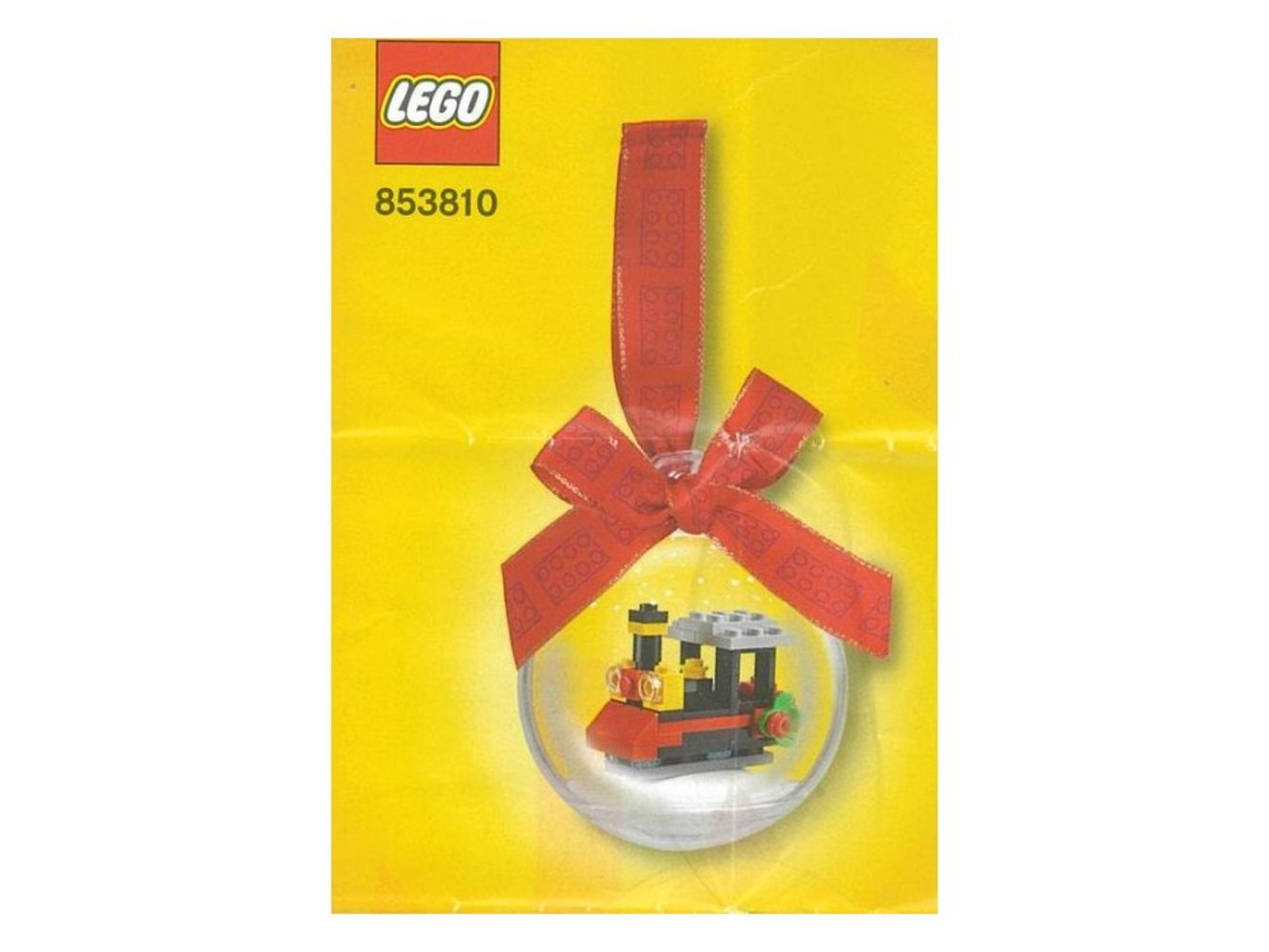Train Holiday Ornament