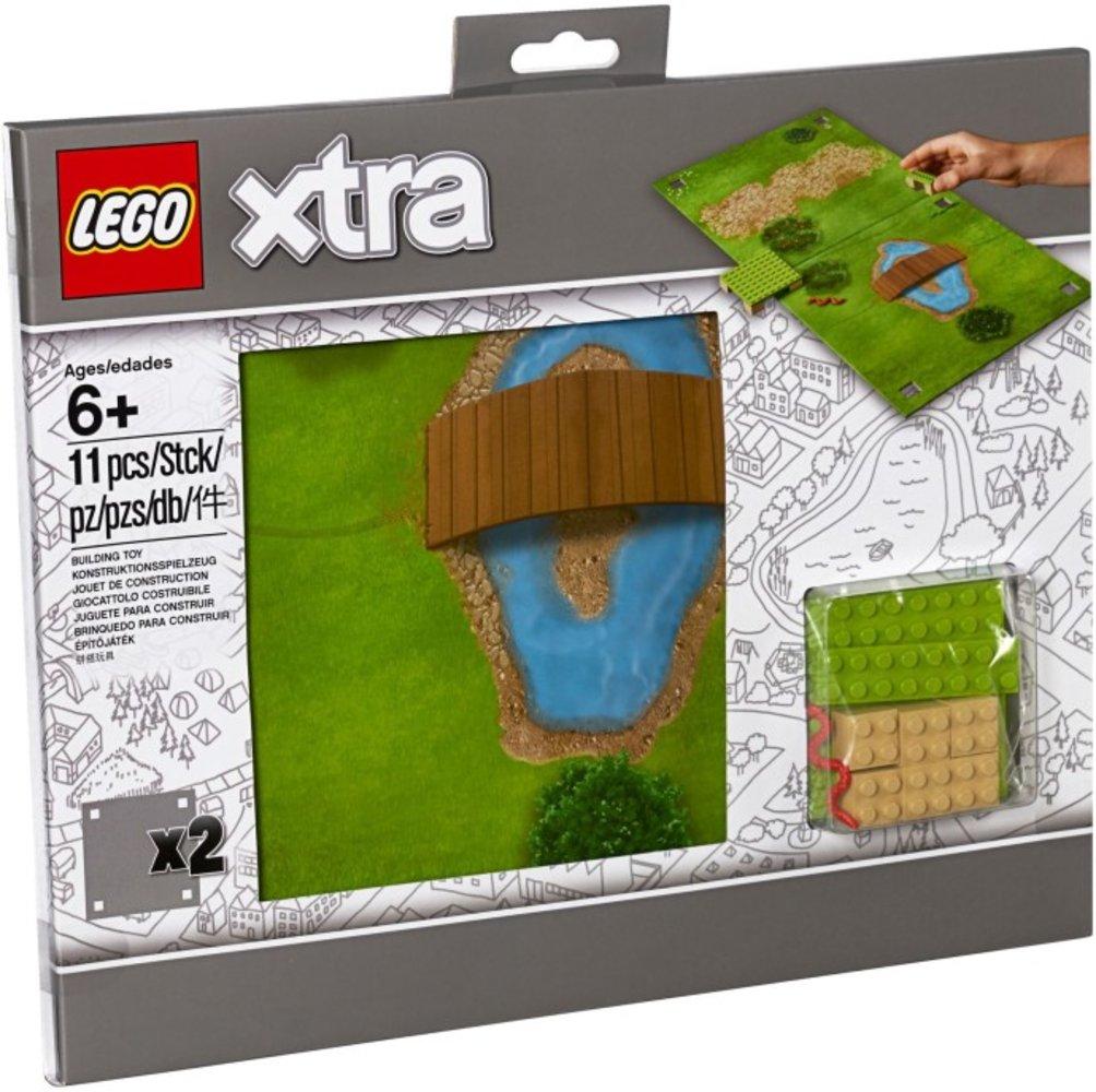 """Lego Xtra 853842 pas cher, LEGO Xtra - Tapis de jeu """"Le parc"""""""