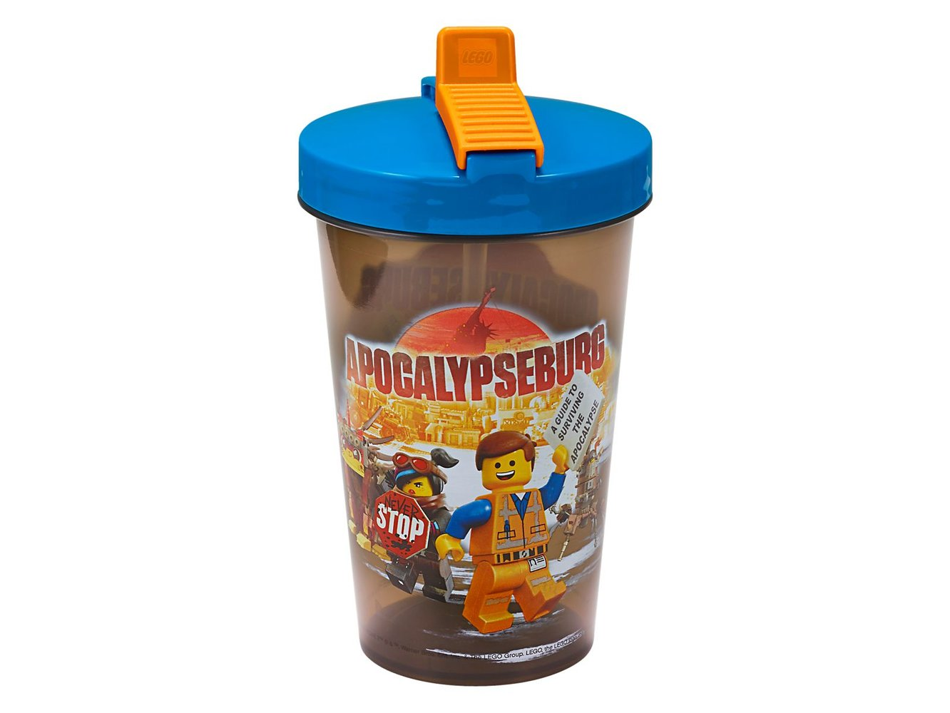 The LEGO Movie 2 Tumbler with Straw
