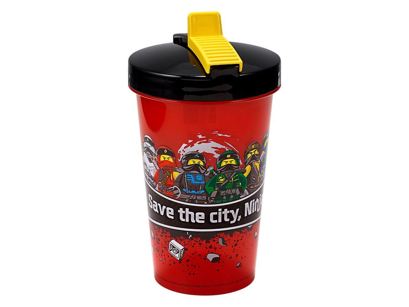 Ninjago Tumbler with Straw