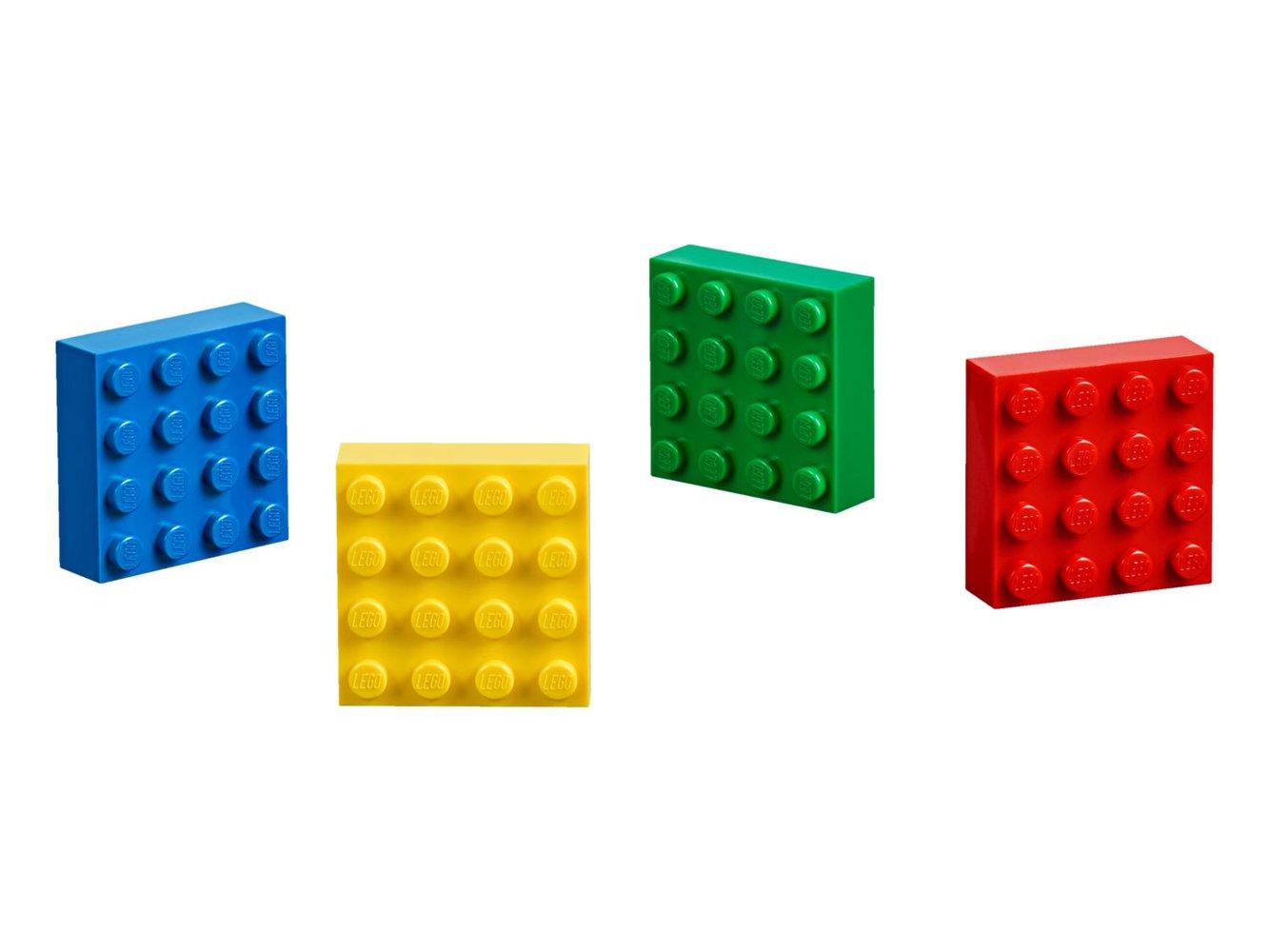 4x4 Brick Magnets Classic