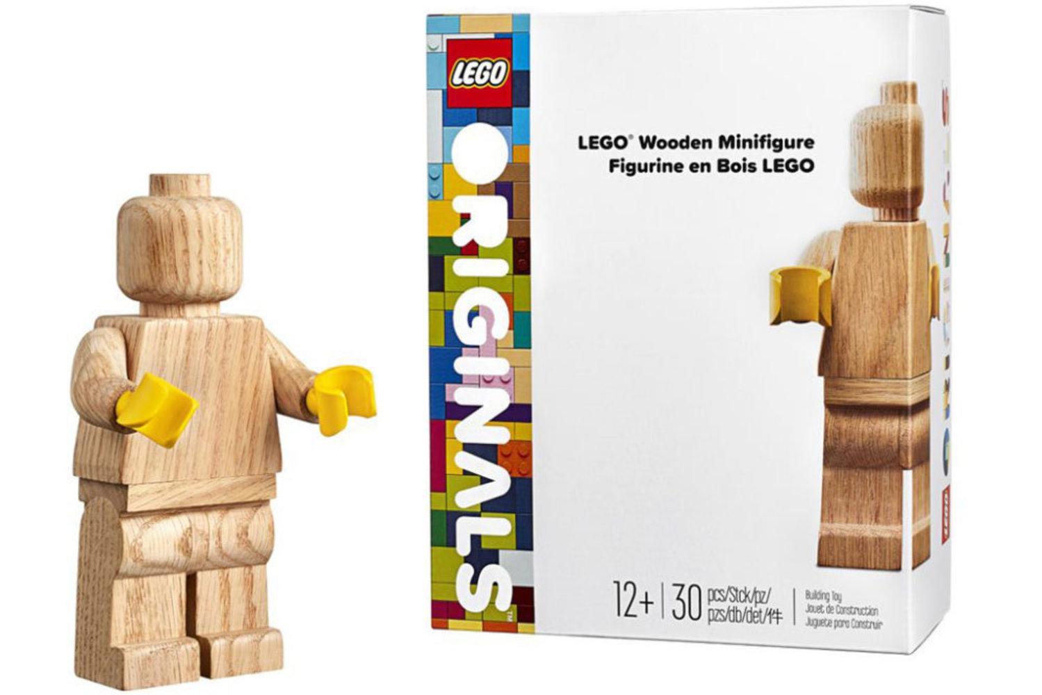 Wooden Minifigure (Colette Mon Amour Limited Edition)