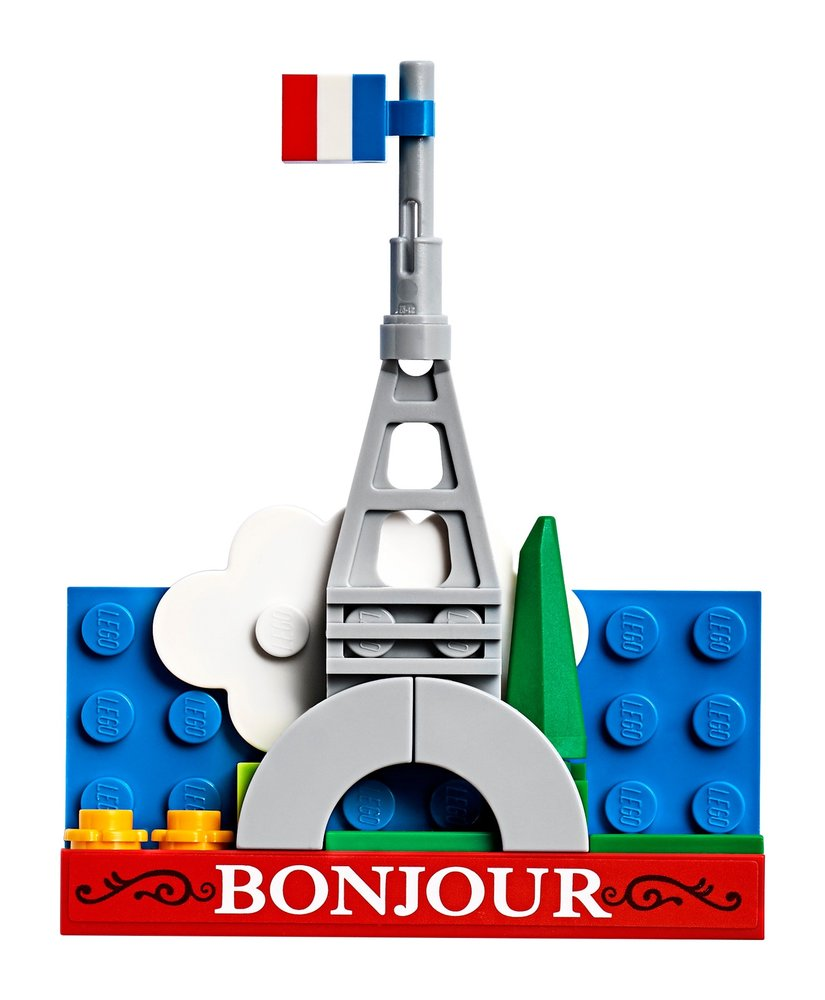 Eiffel Tower Magnet Build