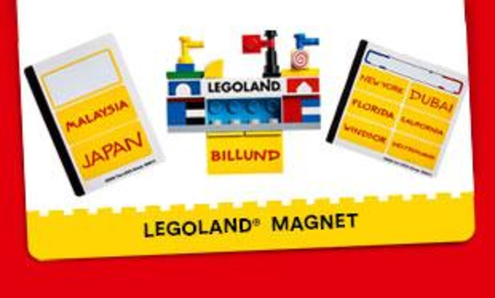 LEGOLAND Build Magnet