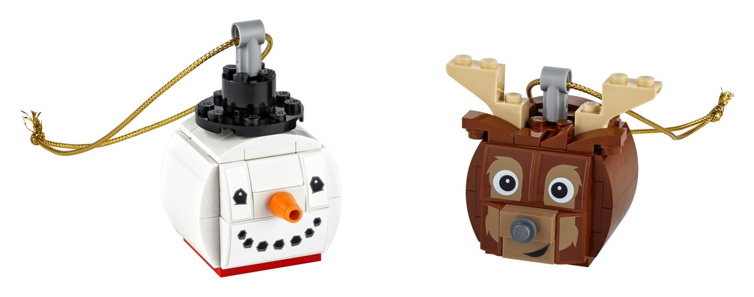 Snowman & Reindeer Duo