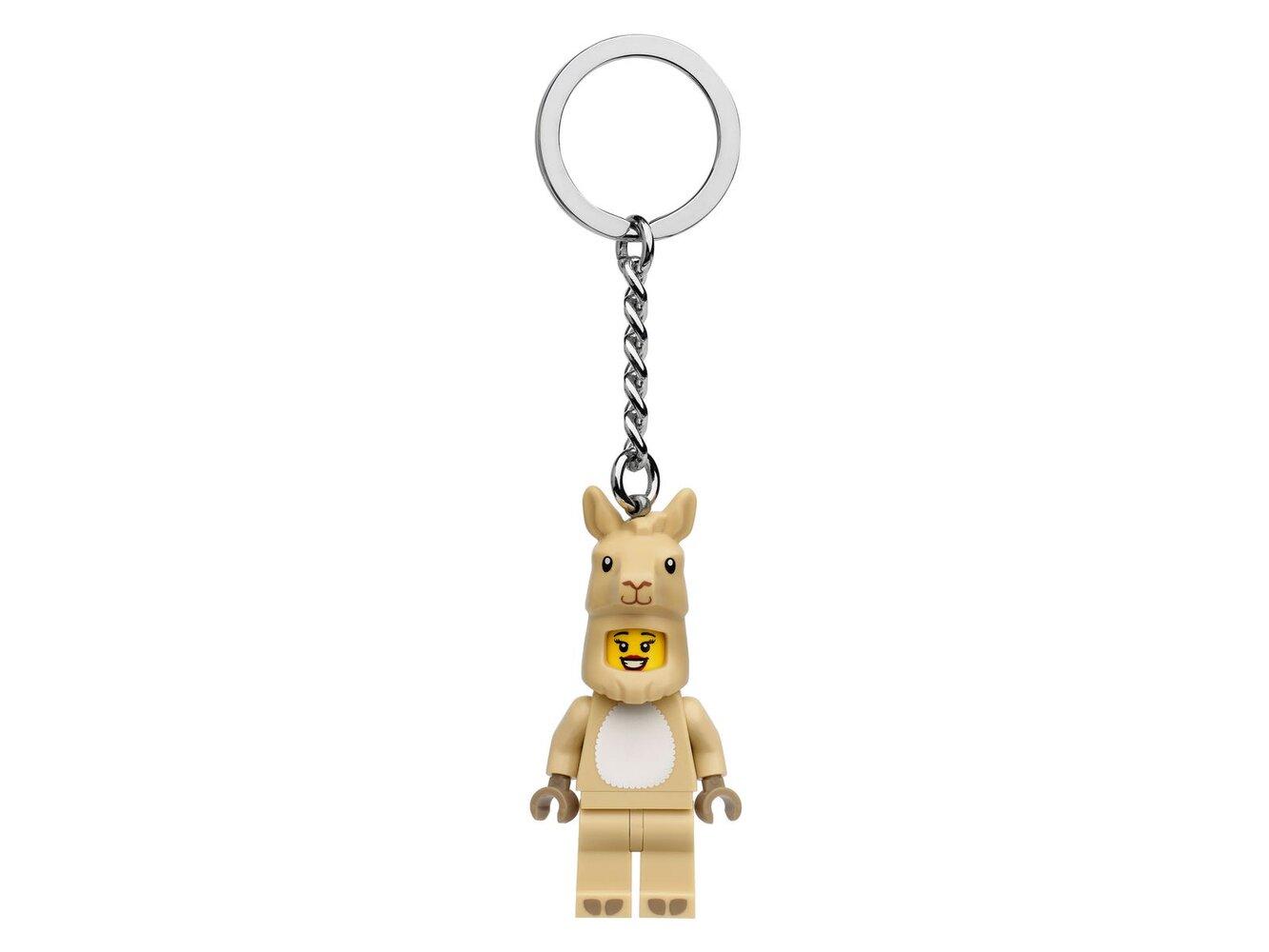 Llama Girl Key Chain