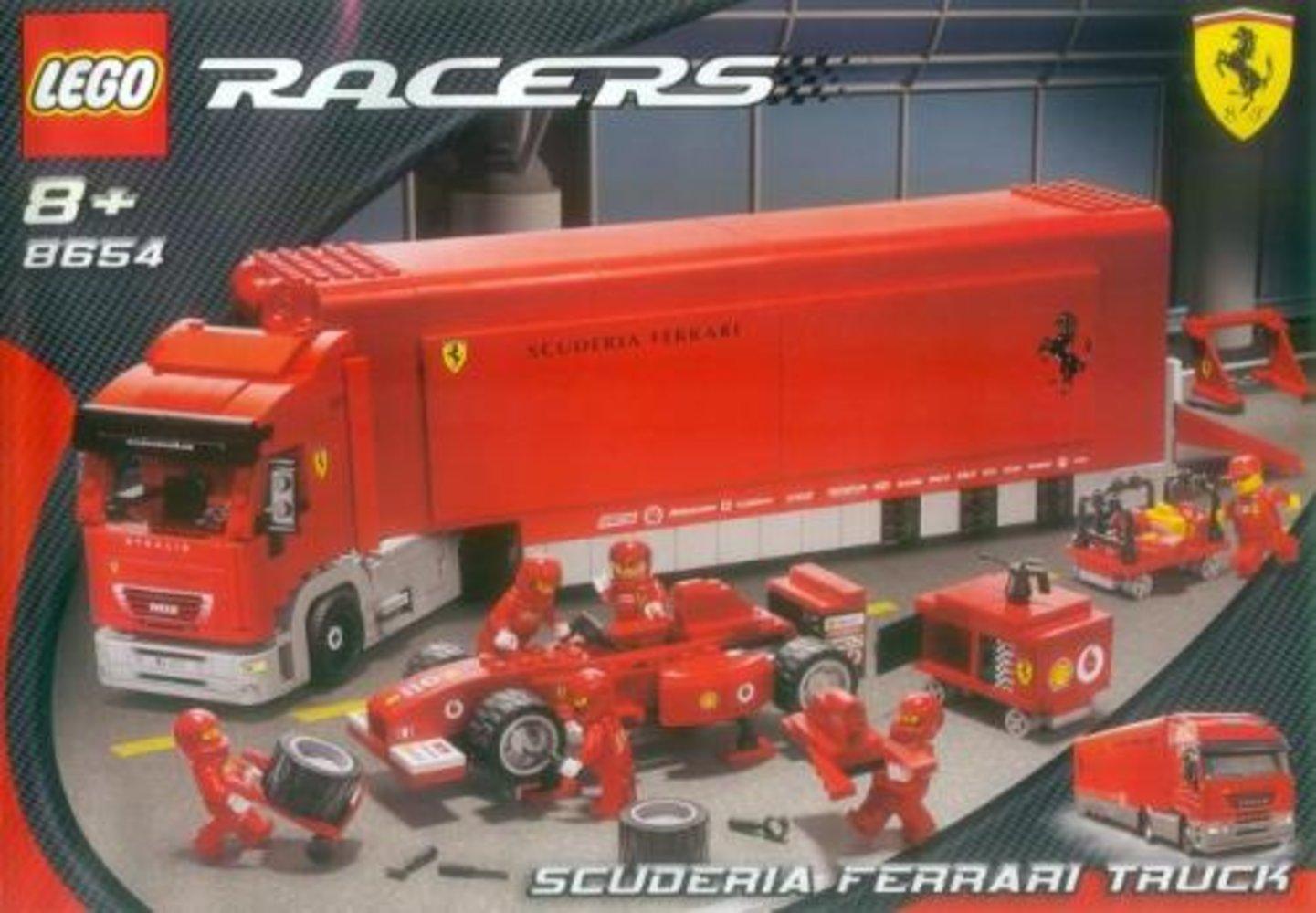 Scuderia Ferrari Truck