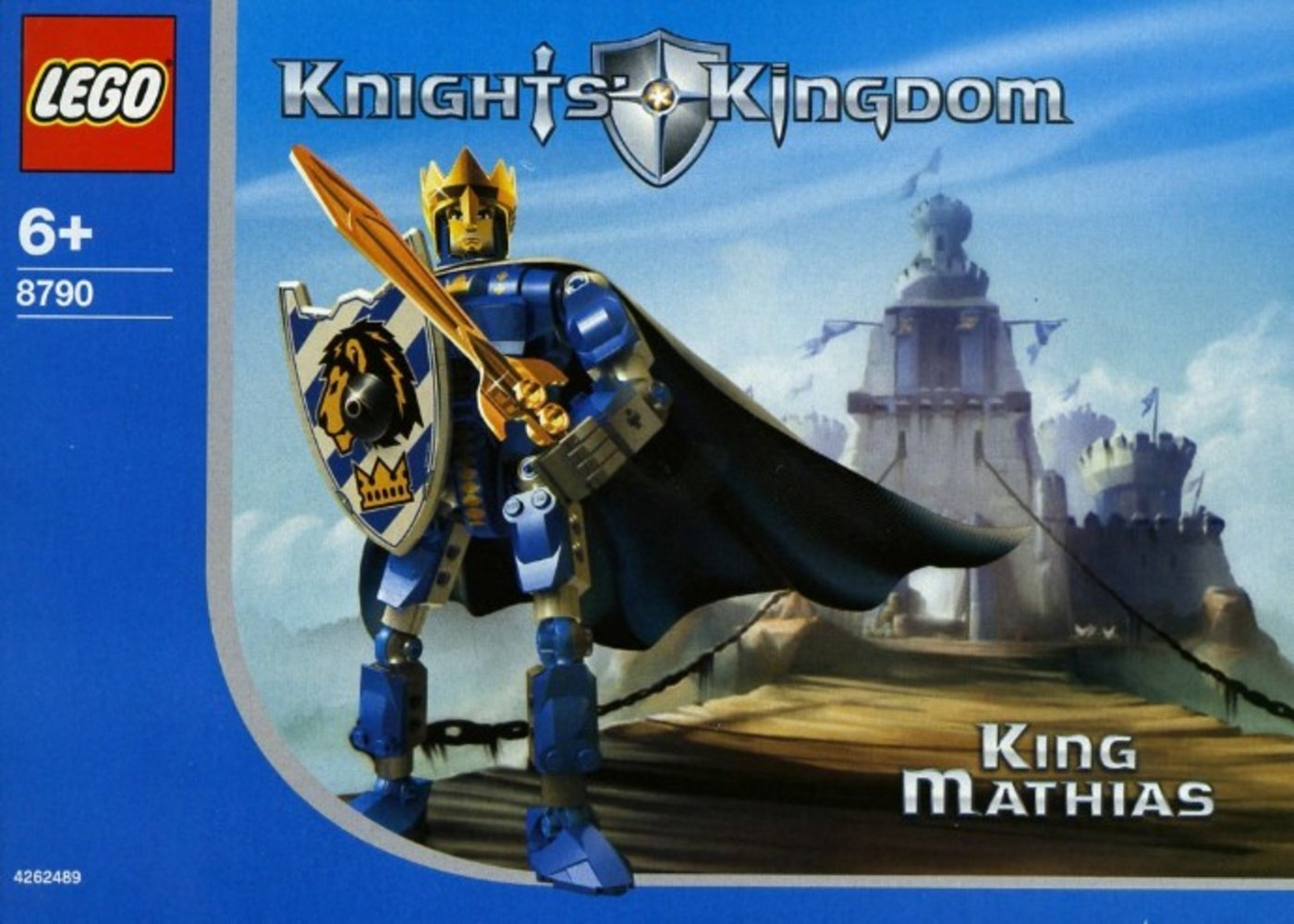 King Mathias (Series 1) Limited Edition with Map and Cape, European