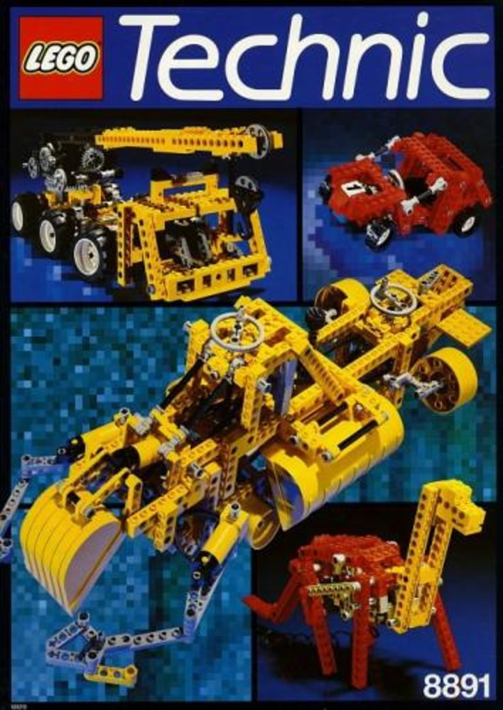 Idea Book 8891, Technic