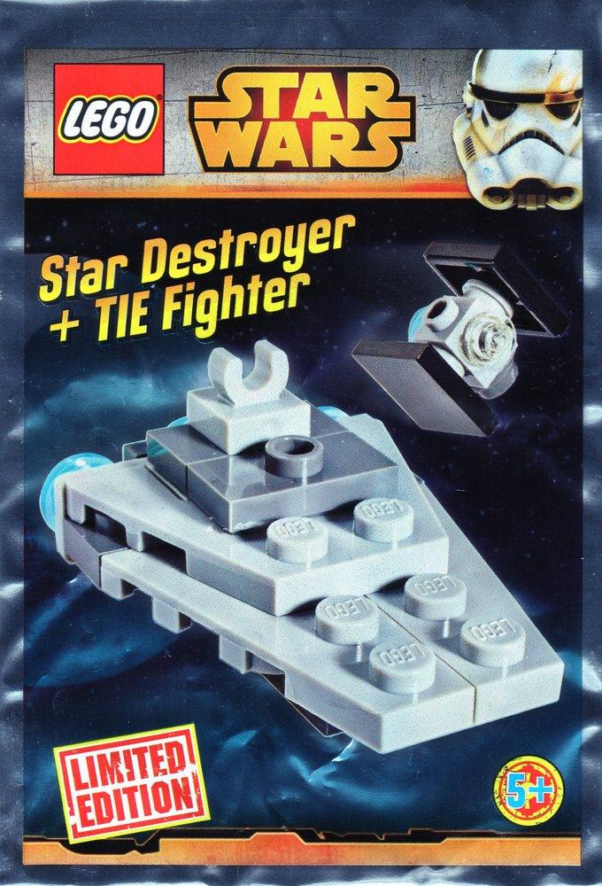 Star Destroyer & TIE Fighter