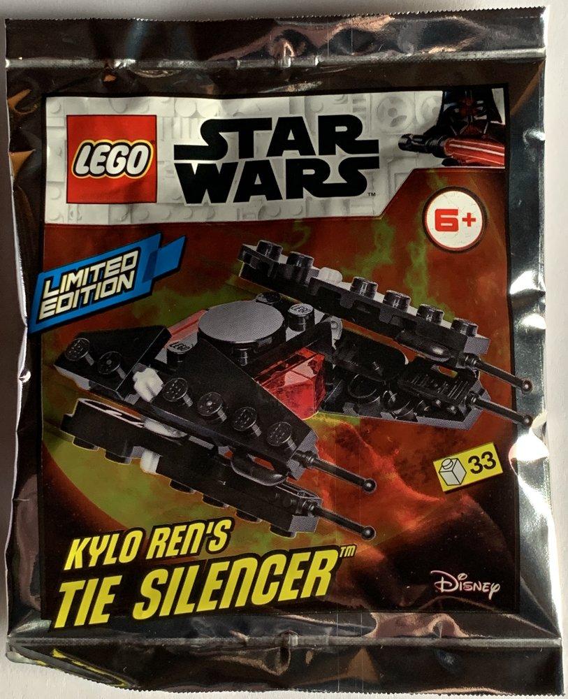 Kylo Ren's TIE Silencer