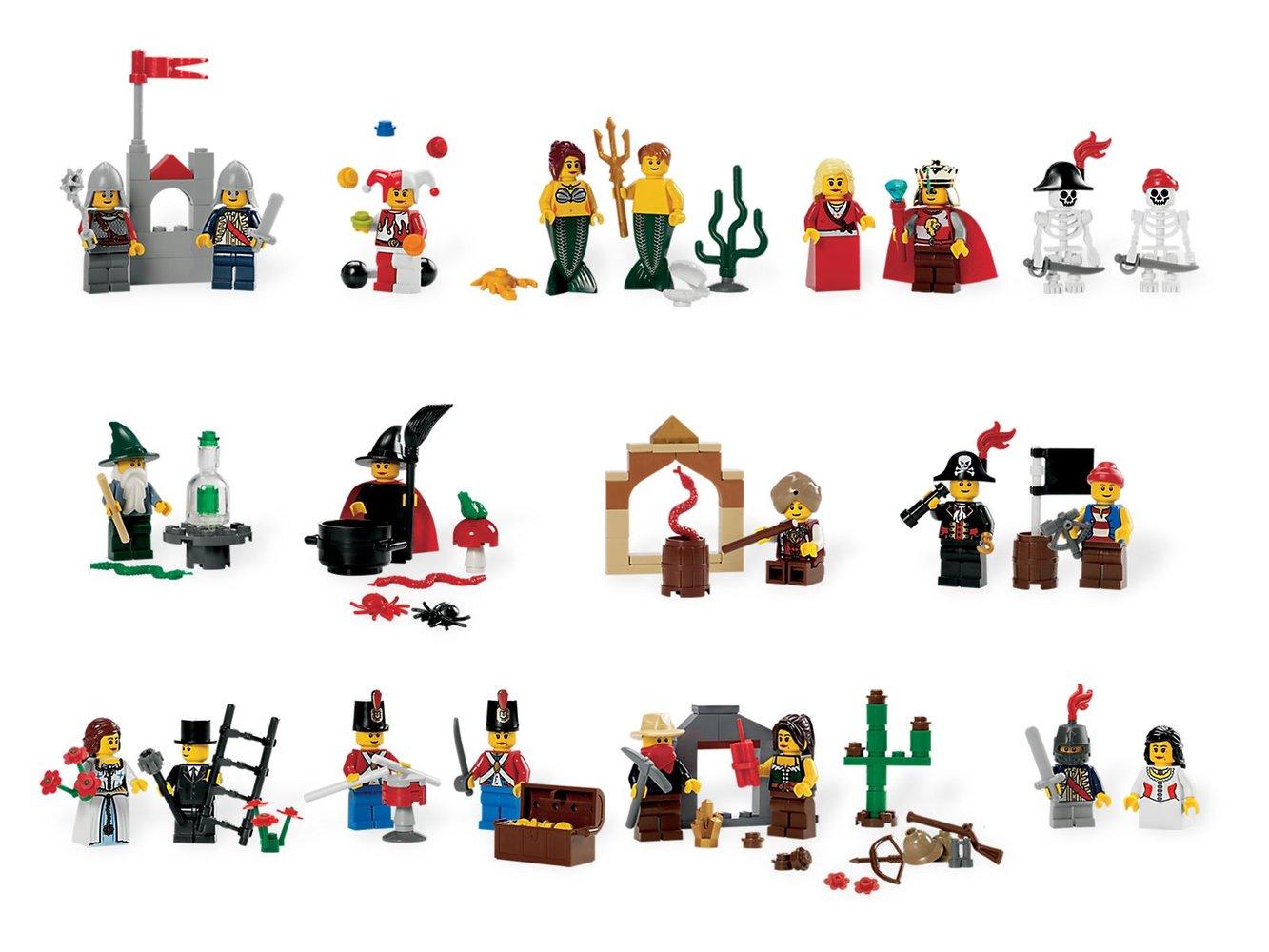 Fairytale and Historic Minifigures