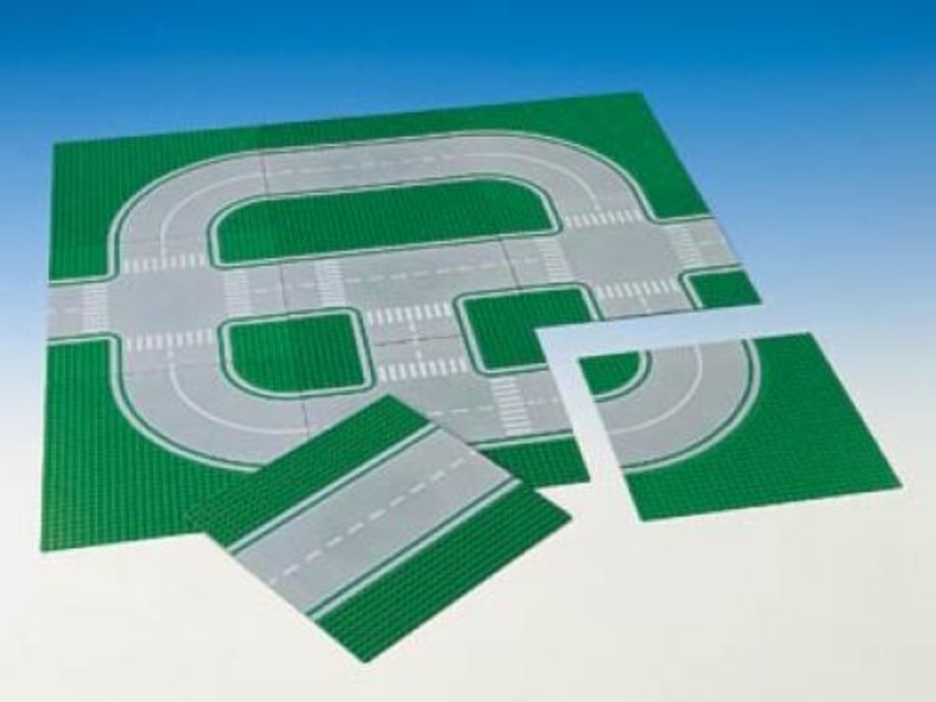 Lego System Road Plates