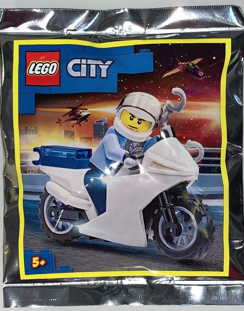 Policeman & Motorbike