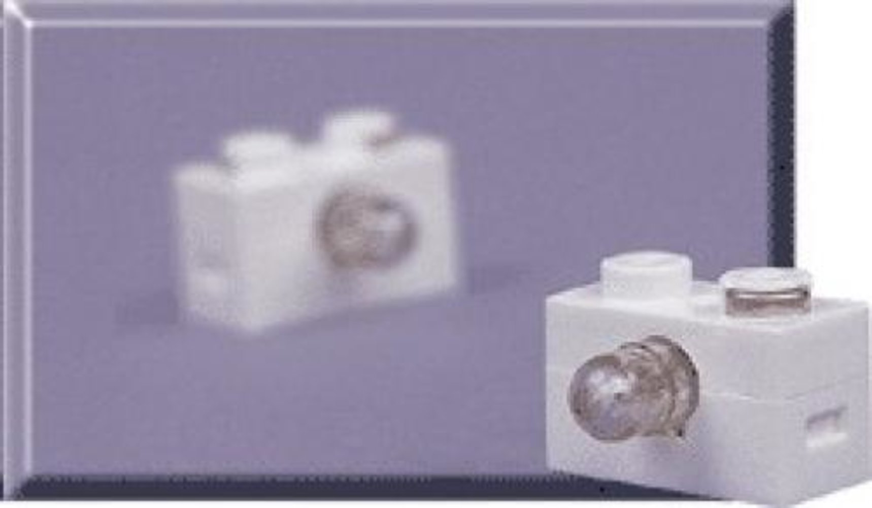 9-Volt 1 x 2 Lamp Brick (Pack of 2)