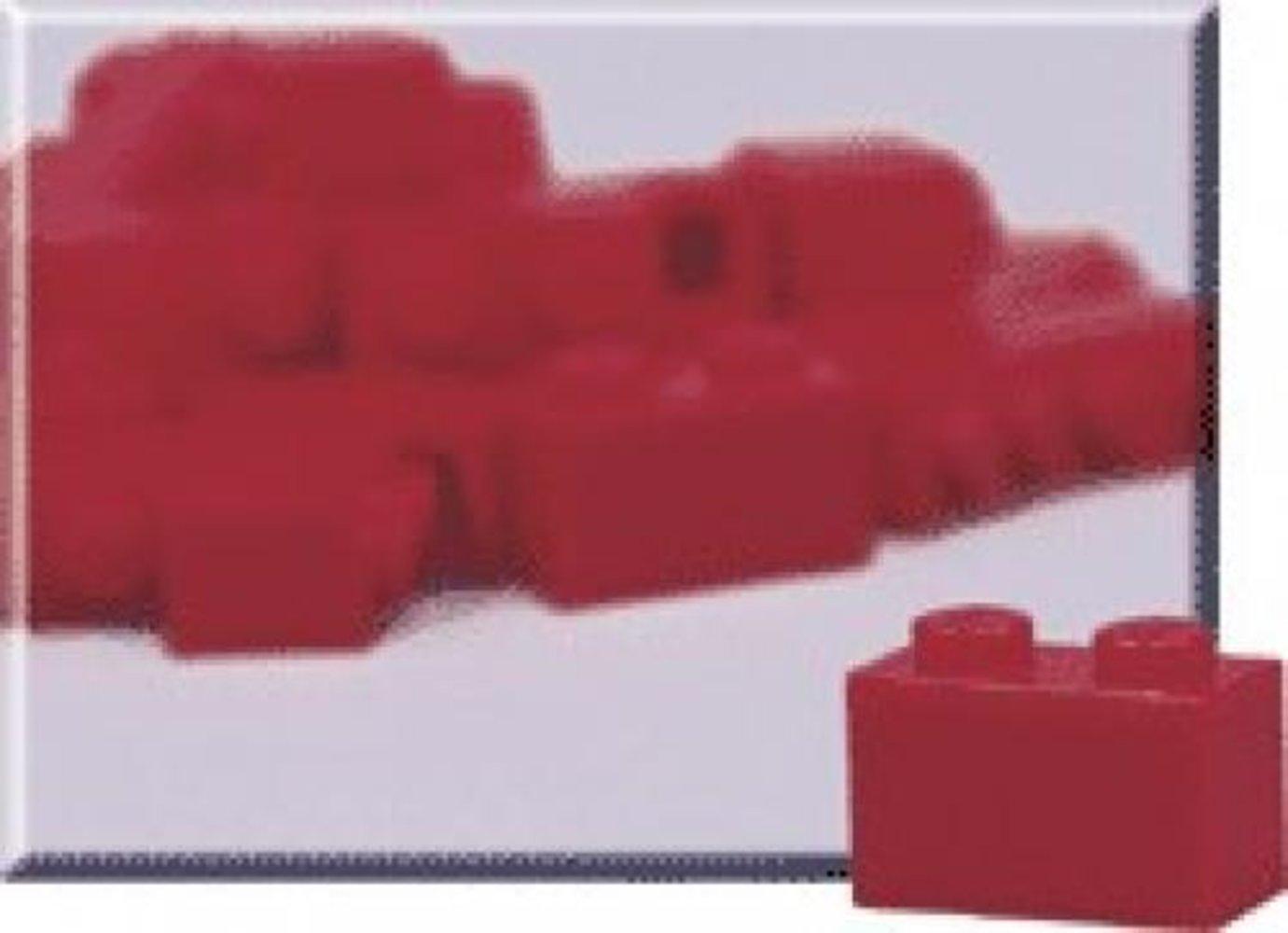 1 x 2 Red Bricks (Pack of 50)