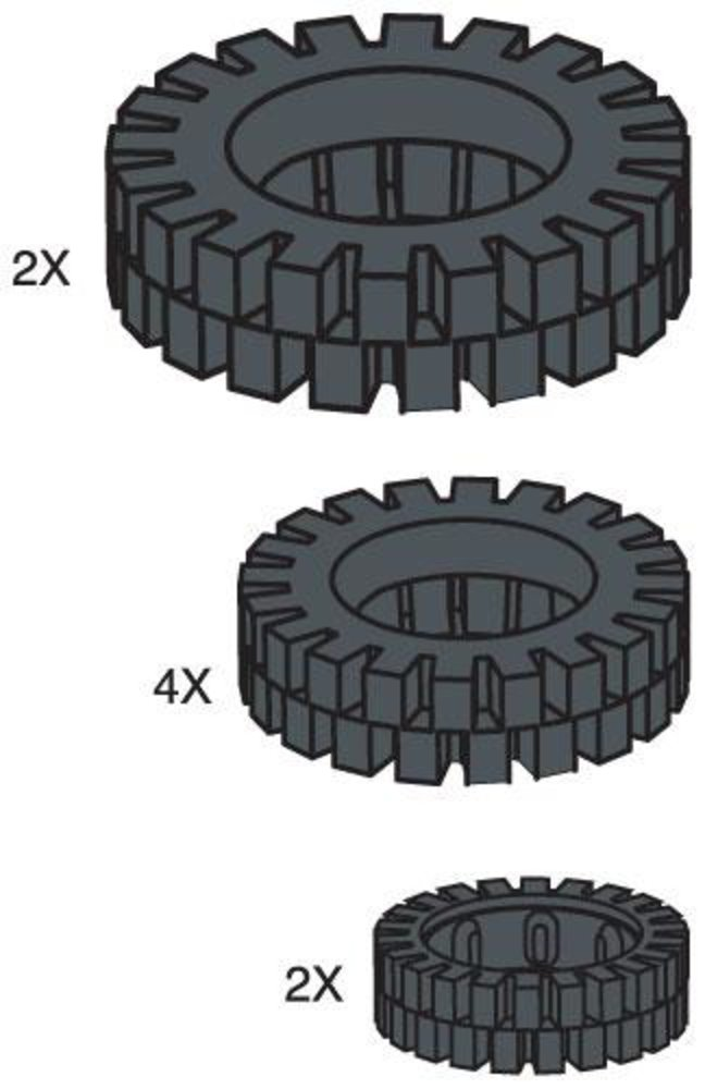 Tire Pack (Set of 8)