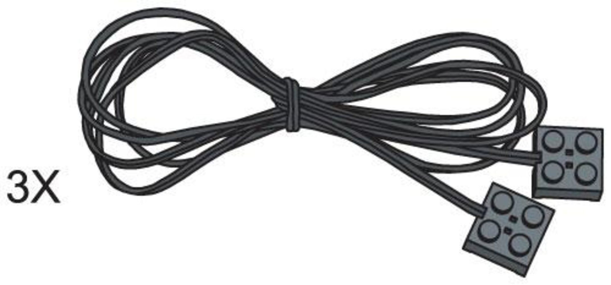 1280 mm Connecting Leads (Pack of 3)