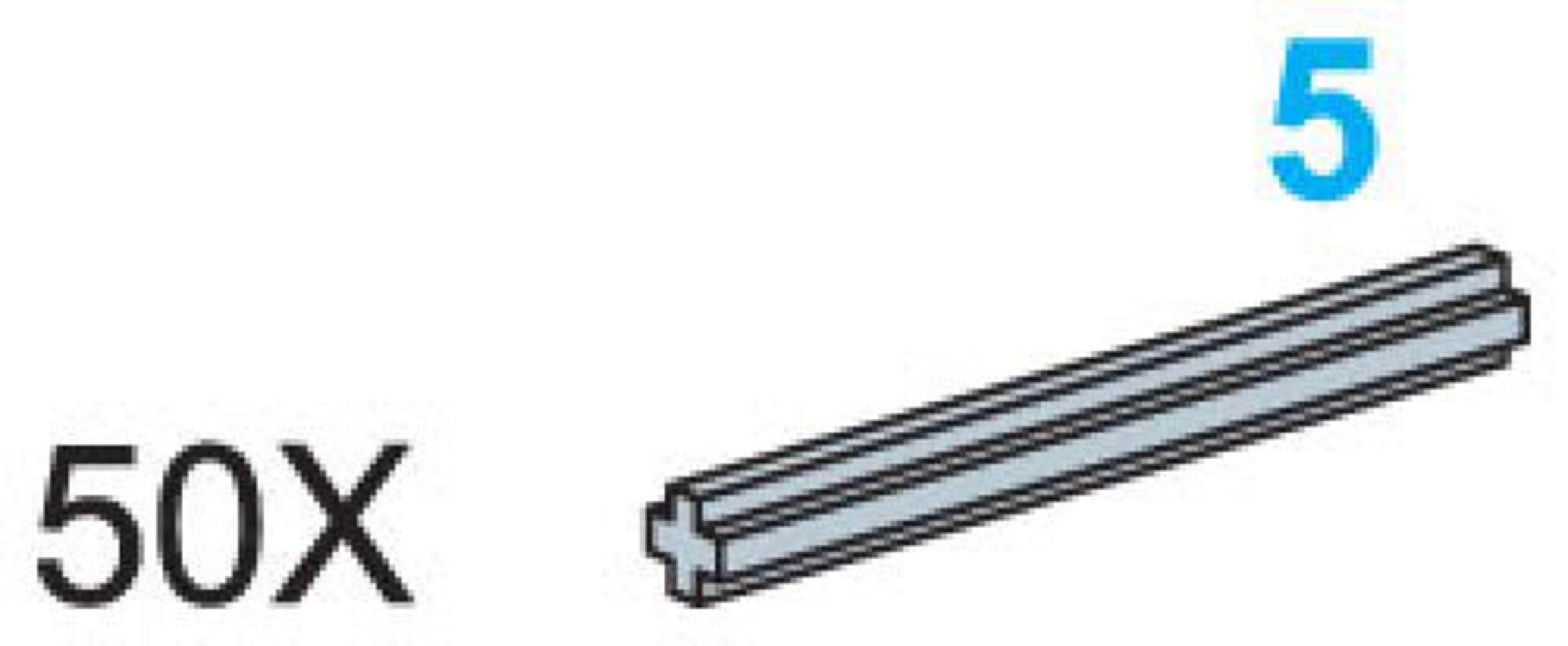 5-Stud Axles (Pack of 50)