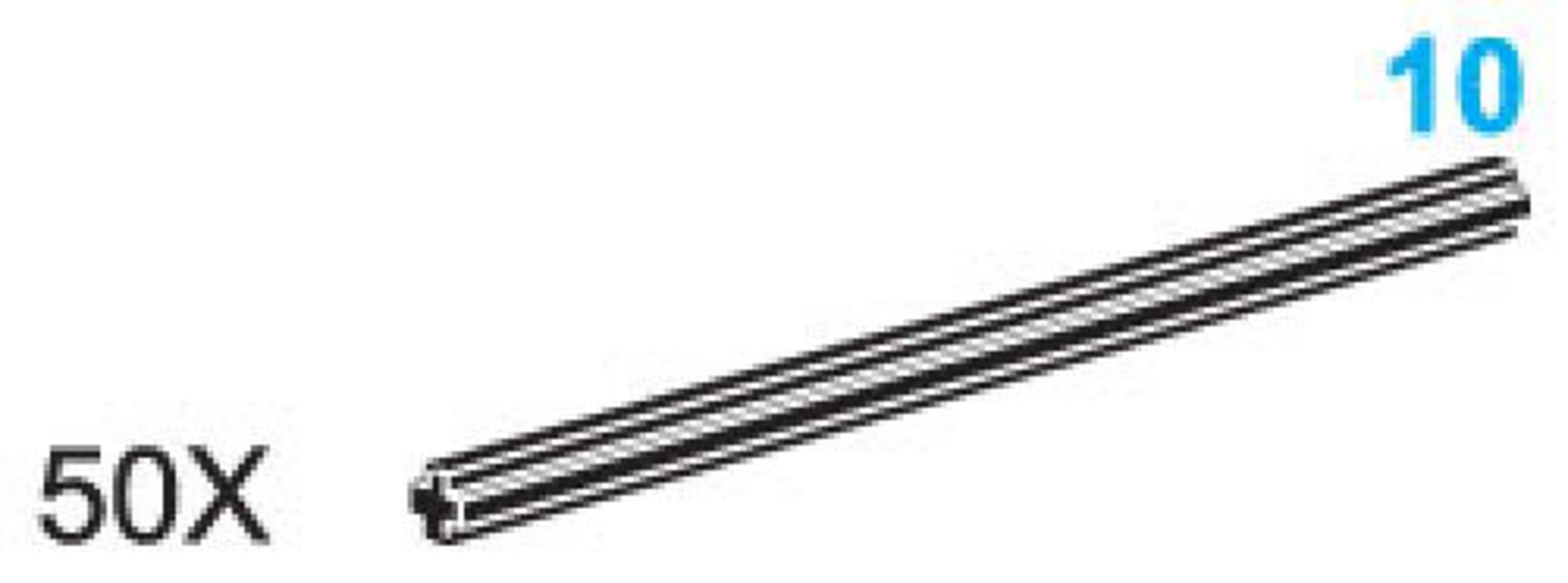 10-Stud Axles (Pack of 50)