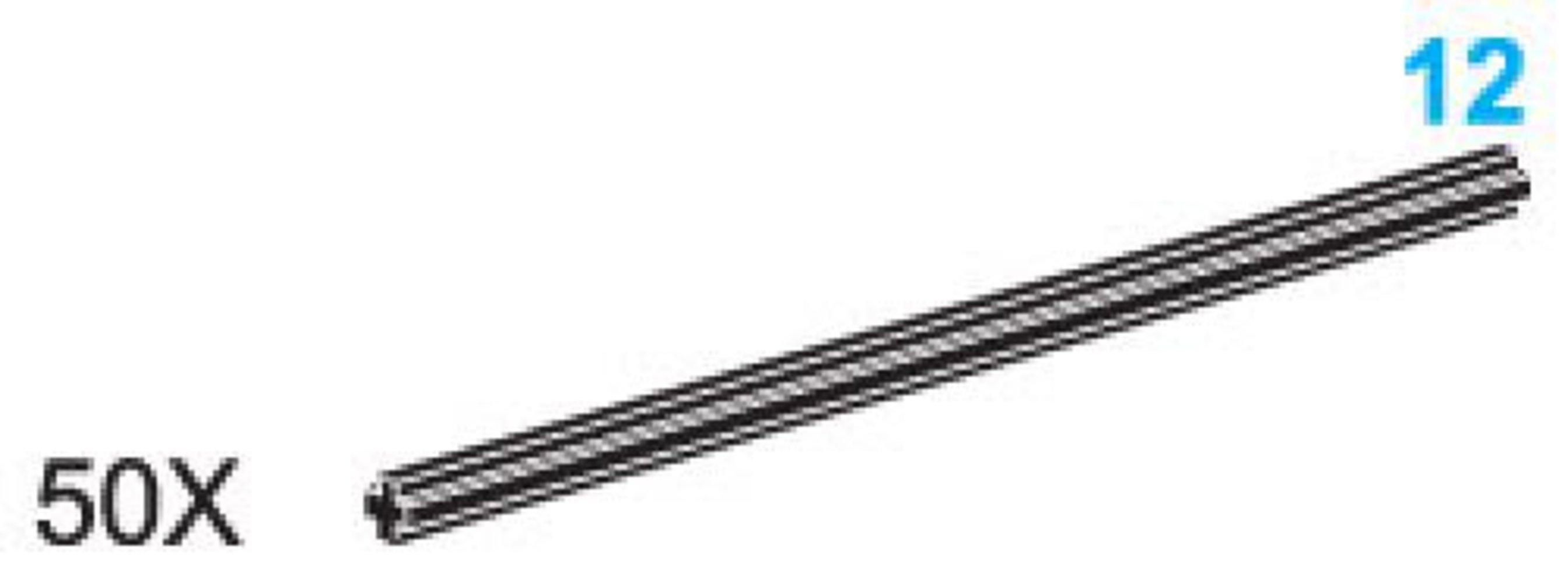 12-Stud Axles (Pack of 50)