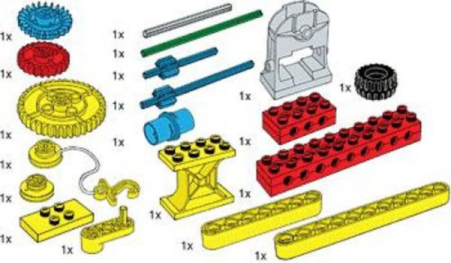 Special Elements for Early Simple Machines Set