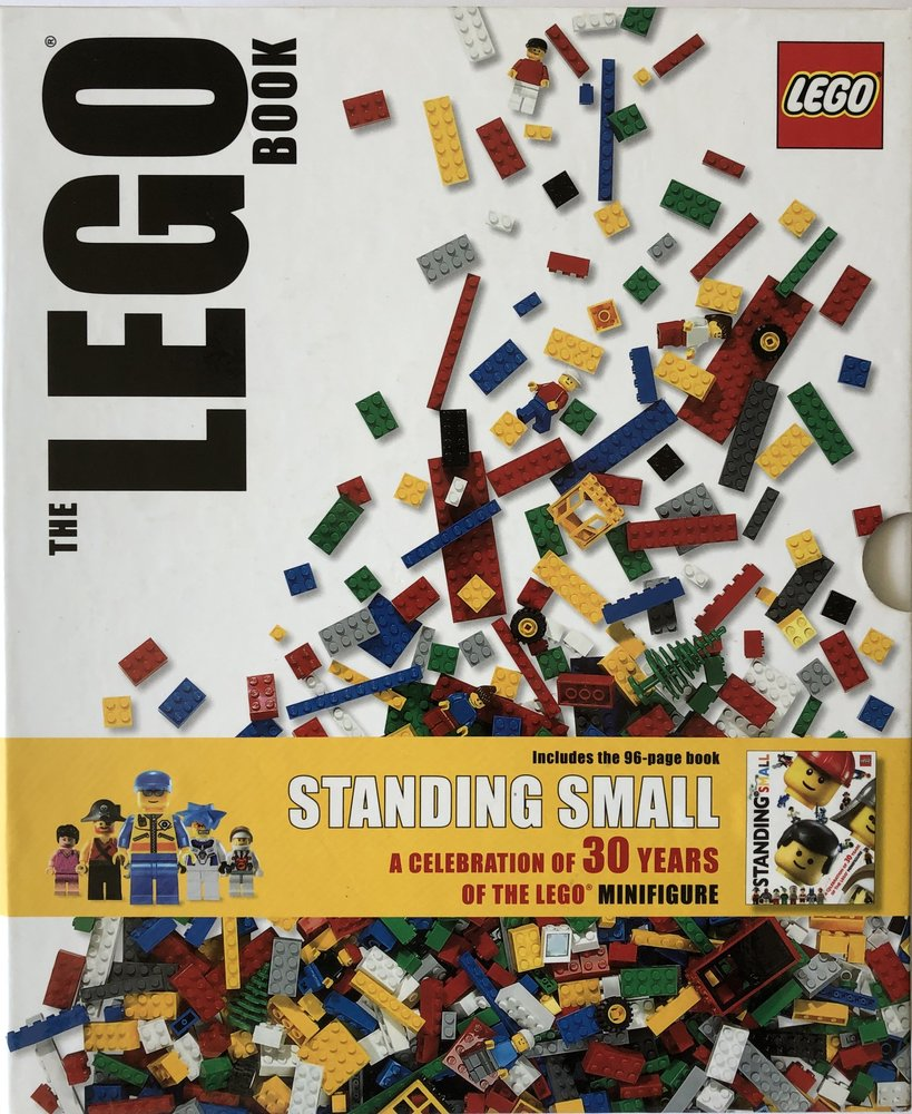 The LEGO Book & Standing Small