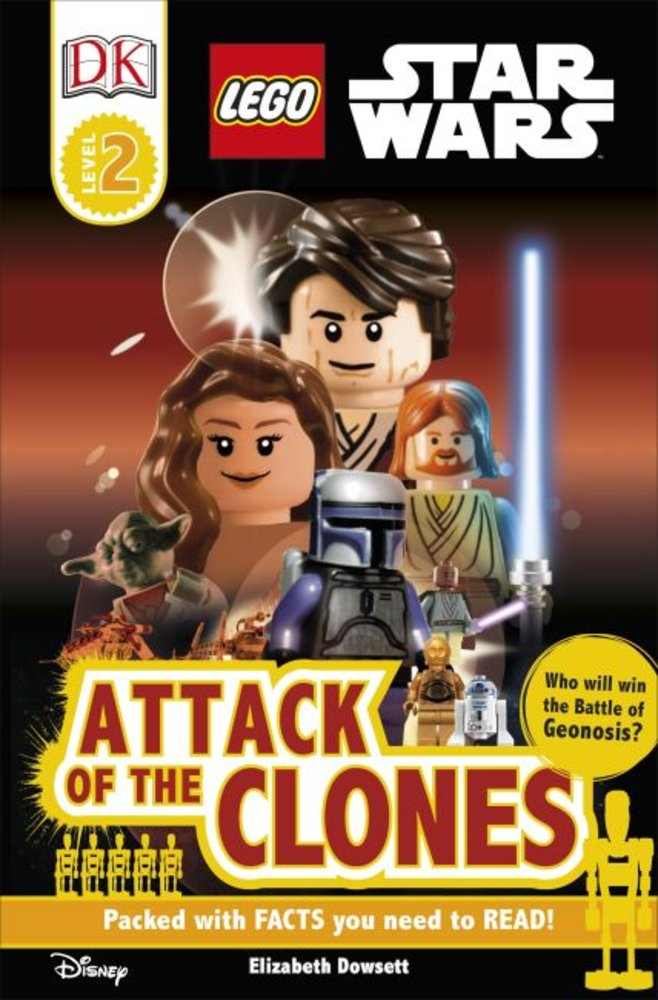 DK Readers Level 2: Star Wars: Attack of the Clones
